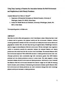 Using Deep Learning to Examine the Association between the ... - arXiv