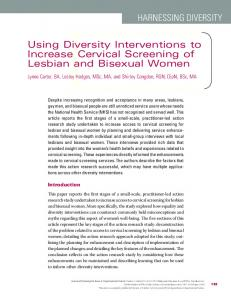 Using Diversity Interventions to Increase ... - Wiley Online Library