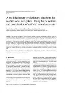 Using fuzzy systems and combination of artificial neural ne