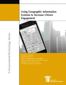 Using Geographic Information Systems to Increase ...