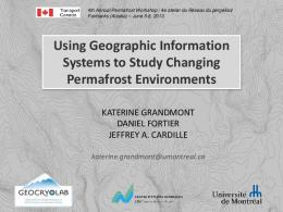 Using Geographic Information Systems to Study