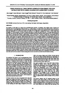using individual tree crown approach for forest volume extraction with ...
