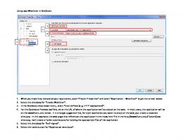 Using Java Web Start in NetBeans 1. When you have fully ...