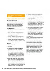 Using signpost words (discourse markers) - National Centre of ...