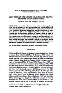 USING THE DAST-C TO EXPLORE COLOMBIAN AND ... - Springer Link
