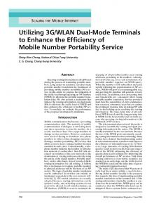Utilizing 3G/WLAN Dual-Mode Terminals to Enhance ... - IEEE Xplore