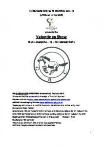 Valentines Show - South Africa Show Jumping