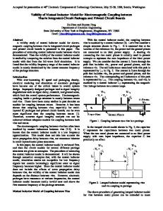 Validity of Mutual Inductor Model for Electromagnetic Coupling