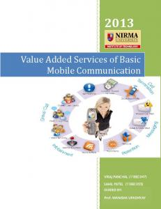 Value Added Services of Basic Mobile ...