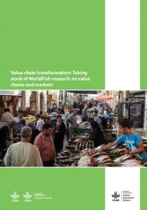 Value chain transformation: Taking stock of ... - Aquatic Commons
