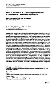 Value of Information as a Context-Specific Measure of ... - Springer Link