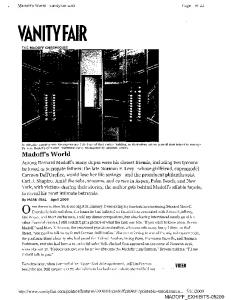 VANITYFAIR - Securities and Exchange Commission
