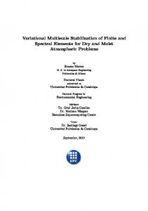 Variational Multiscale Stabilization of Finite and ...