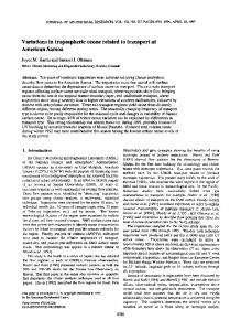 Variations in tropospheric ozone related to ... - Wiley Online Library