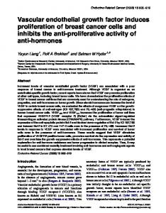 Vascular endothelial growth factor induces ... - Semantic Scholar