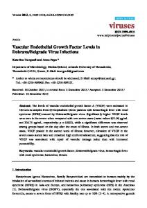 Vascular Endothelial Growth Factor Levels in ... - BioMedSearch