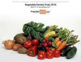 Vegetable Variety Trials 2010 - Oregon State University