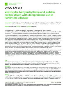 Ventricular tachyarrhythmia and sudden cardiac death ... - CyberLeninka