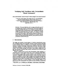 Verifying Soft Deadlines with Probabilistic Timed Automata*