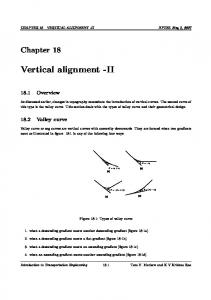 Vertical alignment -II - nptel