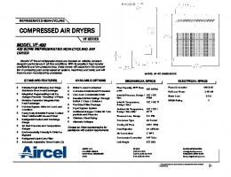 VF-400 - Refrigerated Compressed Air Dryer