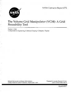 VGM - NASA Technical Reports Server (NTRS)