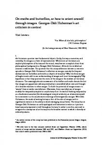 VI1 - Journal of Art Historiography
