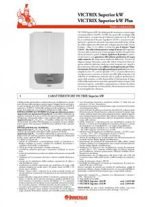 VICTRIX Superior kW VICTRIX Superior kW Plus - Certificazione ...