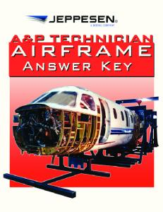 View A&P Airframe Textbook Answer Key (PDF)