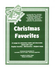View Christmas Favorites Book Sample - Themes & Variations