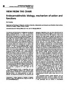 VIEW FROM THE CHAIR Endocannabinoids: biology ... - Nature