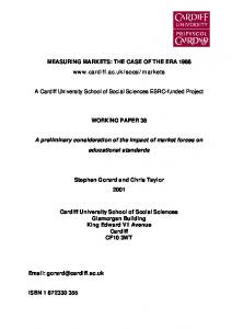 View paper here - Cardiff University