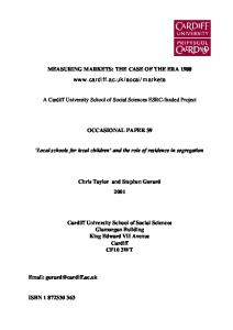 View paper here (pdf file) - Cardiff University