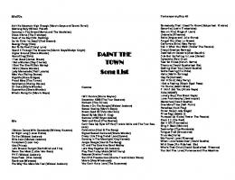 View Song List