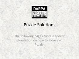 View the Puzzle Solutions