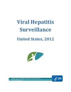Viral Hepatitis Surveillance - Centers for Disease Control and Prevention
