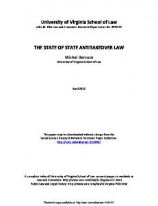 virginia law review - SSRN papers