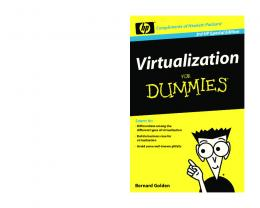 Virtualization For Dummies, 3rd HP Special Edition