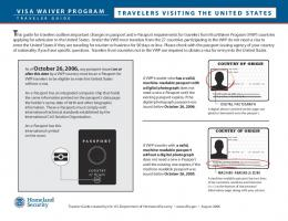 Visa Waiver Program Traveler Guide