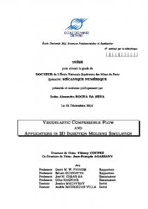 Viscoelastic Compressible Flow and Applications in
