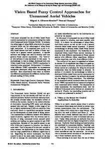 Vision Based Fuzzy Control Approaches for ... - Semantic Scholar