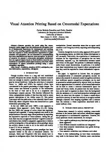 Visual Attention Priming Based on Crossmodal Expectations