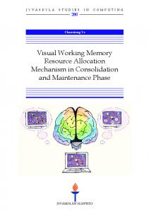 Visual working memory resource allocation ...