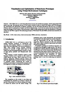 Visualisation and Optimisation of Motorhome ... - Semantic Scholar