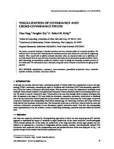 visualization of covariance and cross-covariance ... - Semantic Scholar