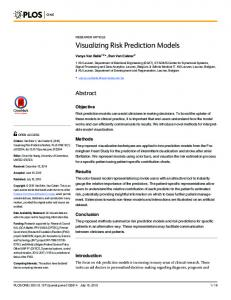Visualizing Risk Prediction Models - Semantic Scholar