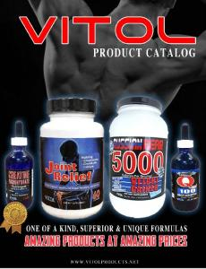Vitol Products New Catalog