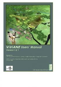 ViViANE Users' Manual