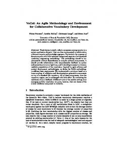 VoCol: An Agile Methodology and Environment for