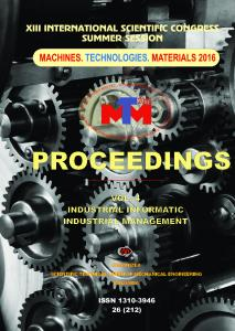 vol. 4 industrial informatic management industrial - Machines ...